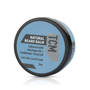 TCM Natural Beard Balm 2oz - 2 Pack