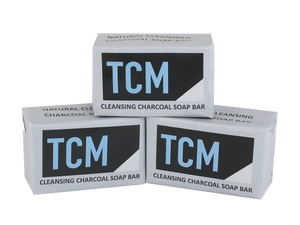 TCM Cleansing Charcoal Bar Soap 3-Pack