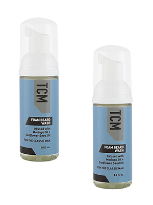 TCM Foam Beard Wash 1.6floz - 2 Pack