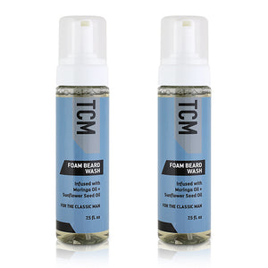 TCM Foam Beard Wash 7.5floz - 2 Pack