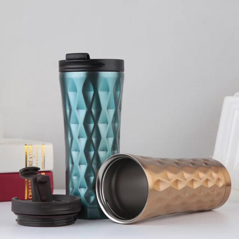 Portable Stainless Steel Coffee Cup
