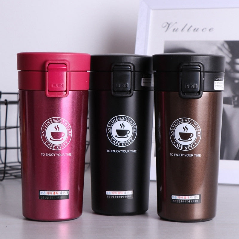 Stainless Steel Vacuum Flasks Car