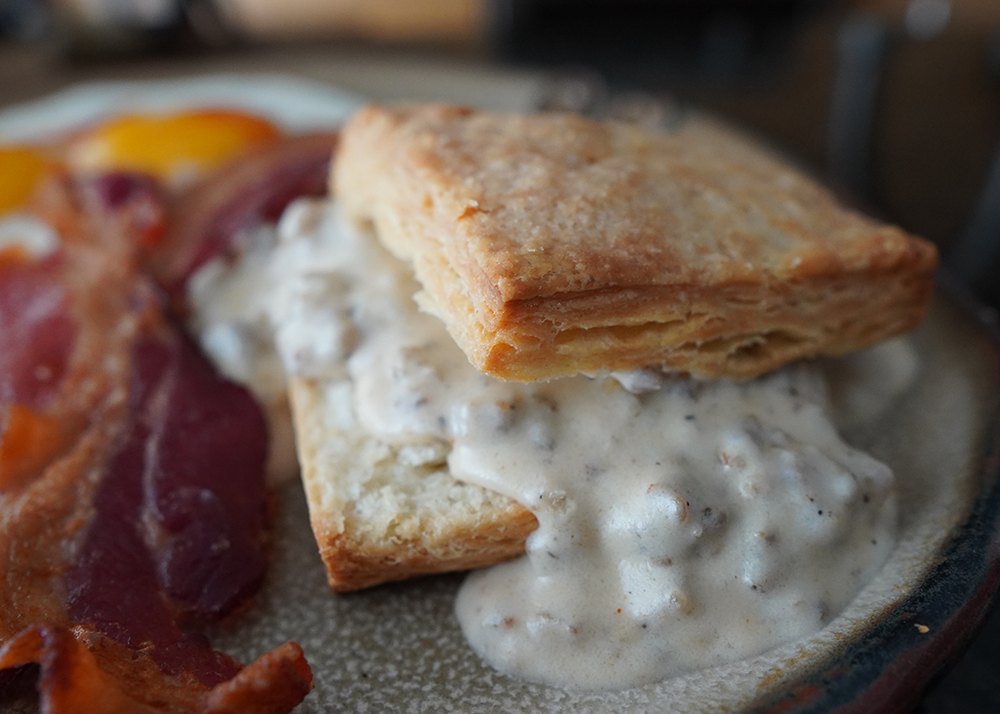 The BEST Sausage Gravy for Biscuits