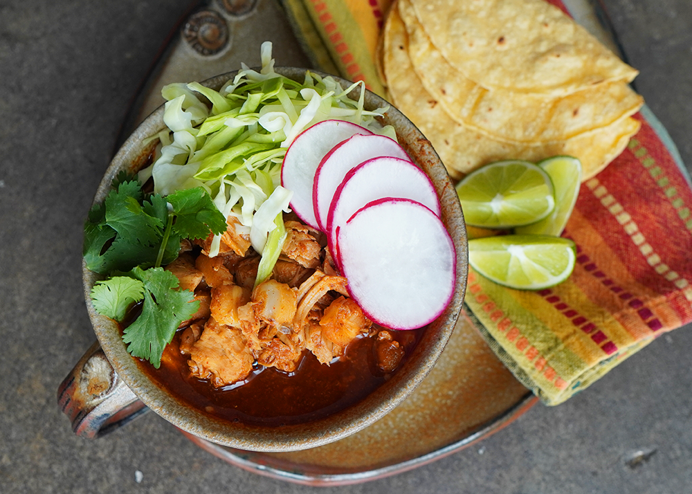 Easy Pozole Rojo (Red Posole) For The Holidays