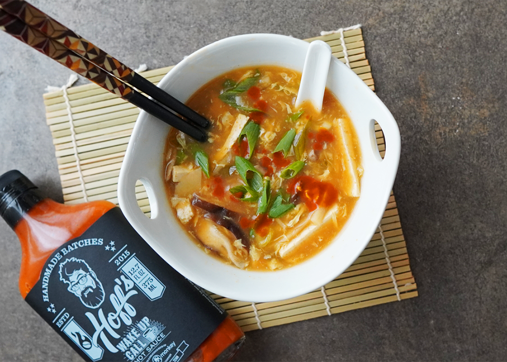 Easy & Quick Hot & Sour Soup