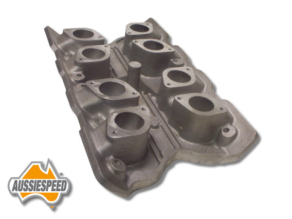 AS0027 Ford Cleveland V8 Quad IDF Weber 2V Head Intake Manifold