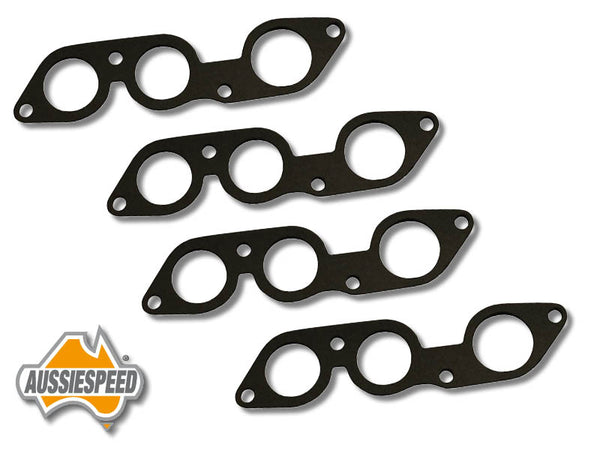 AS0236 Ford 6 cylinder 2V 250 engine inlet manifold gaskets x 2 sets