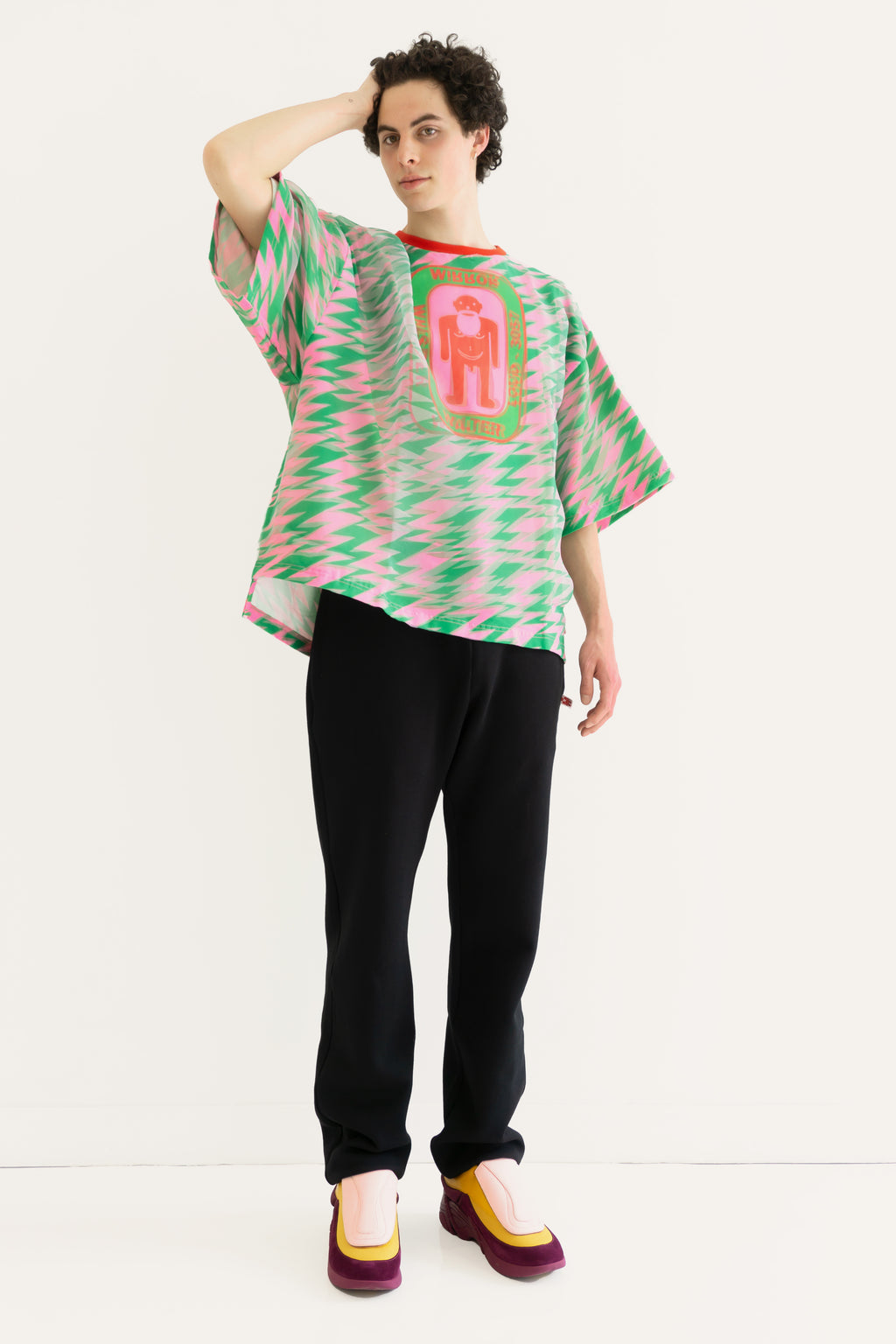Oversized T.Shirt with Top layer