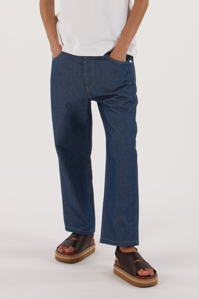 Casual jeans classic blue