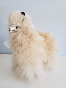 Large Fawn Alpaca Toy
