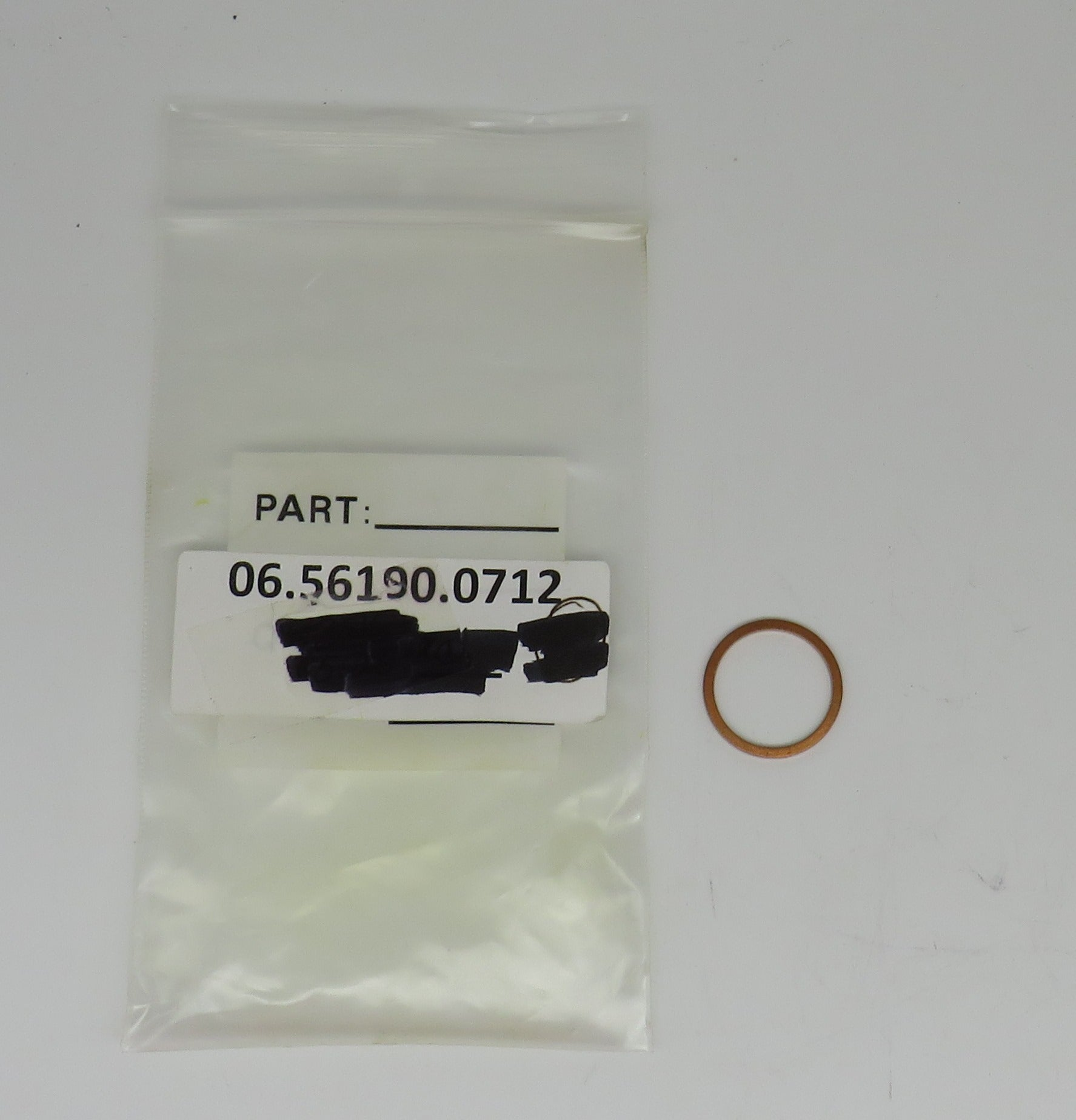 6-56190-0712 MAN Copper Crush Washer18mm x 22mm For Drain Plug