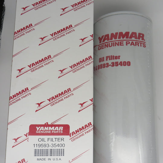 119593-35400-12 Yanmar 6LY2 BY-Pass Oil Filter
