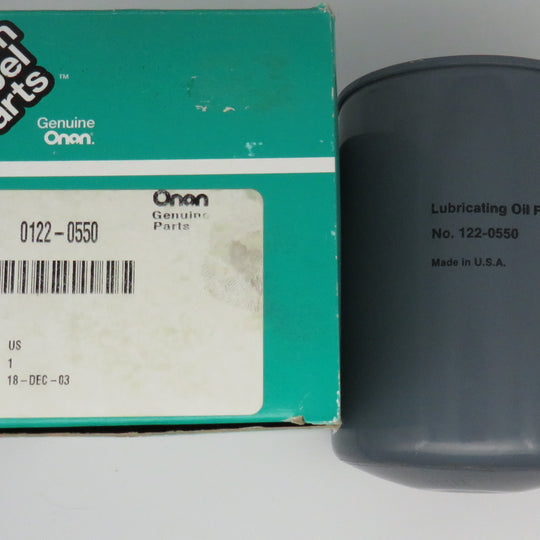 122-0550 Onan Oil Filter For MDL 4/6 ESN 5312 5967 & Below CROSS FRAM PH3616