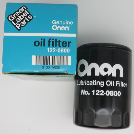 122-0800 Onan Oil Filter Replaces 122-0323