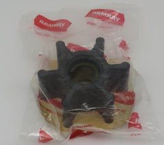124223-42092 Yanmar Impeller GMF Series replaces 128296-42070 uses Gasket #124223-42110
