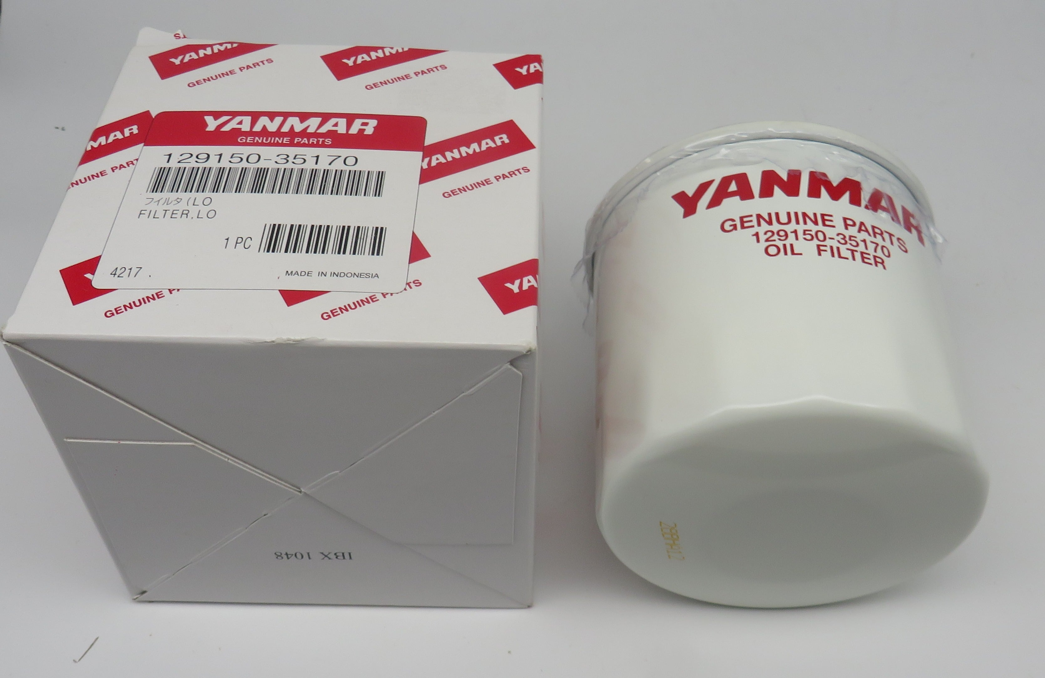 129150-35170 Yanmar Lube Oil Filter. This product Superceded 370-129150-35153