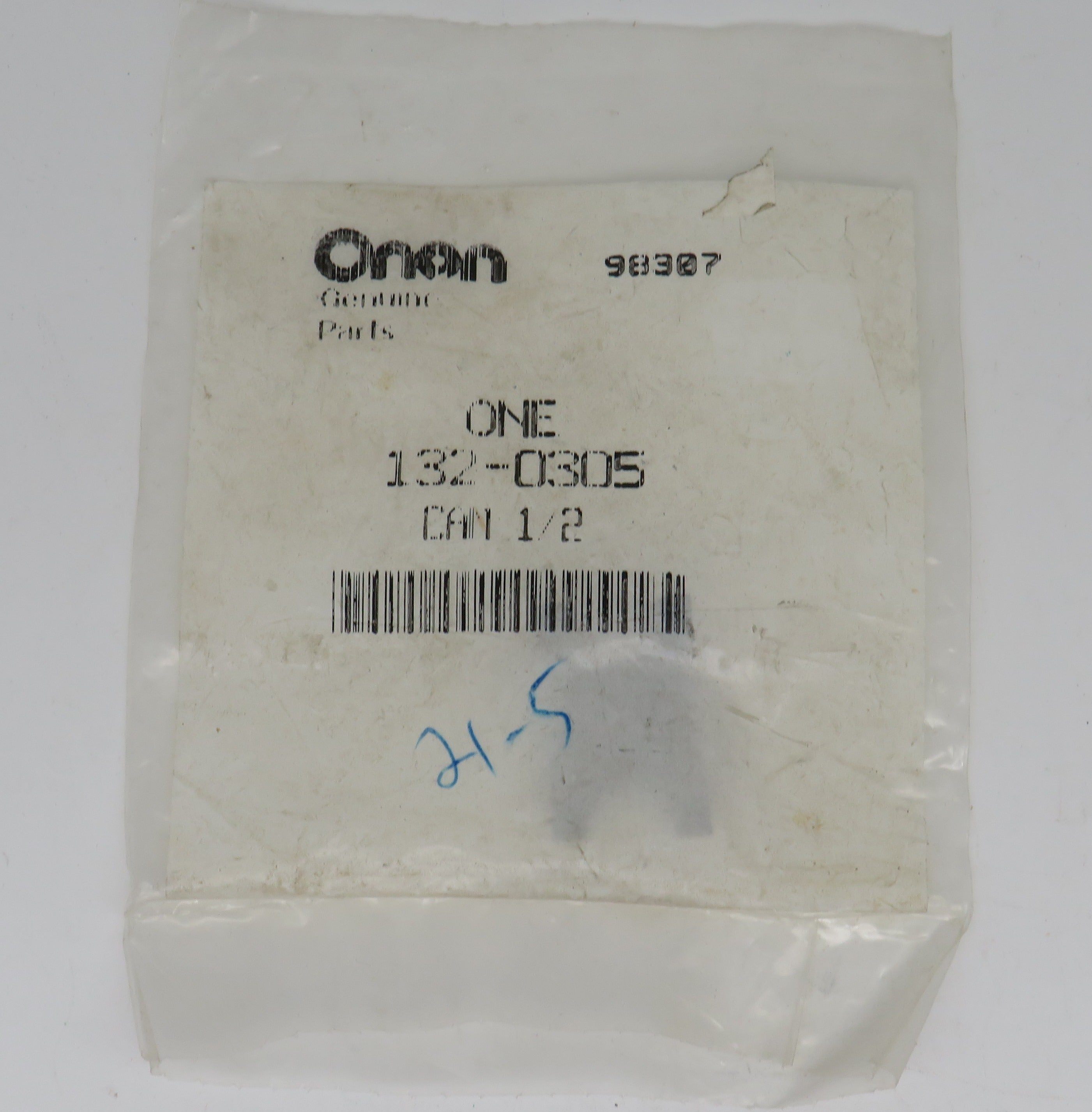 132-0305 Onan CAM 1/2, Also Johnson 01-42910 goes with pump 132-0284 or Johnson 10-35038-5E