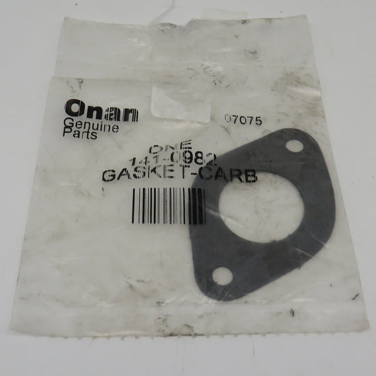 141-0982 Onan Carb Gasket goes with the A040N099 Carburetor (Requires 2)