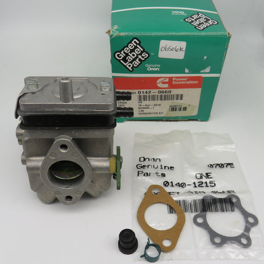 142-0660 Onan Carburetor Kit for Industrial Engines B48M-GA018 11-88 (Spec A) OBSOLETE