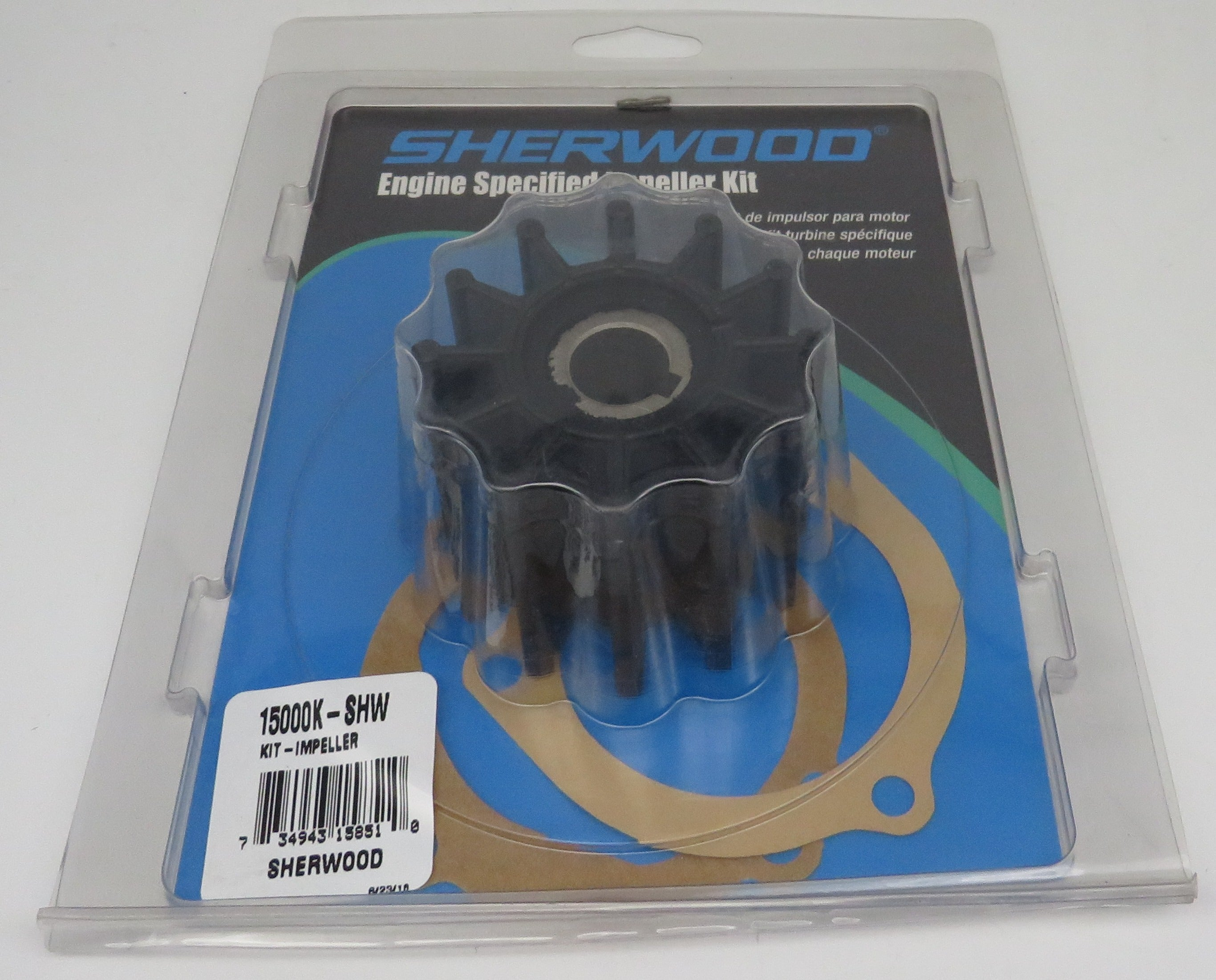 15000K Sherwood Impeller Kit