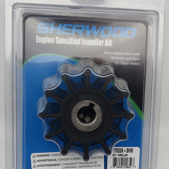 17000K Sherwood Impeller Uses Cummins Engine 3802444 (SH17000K)