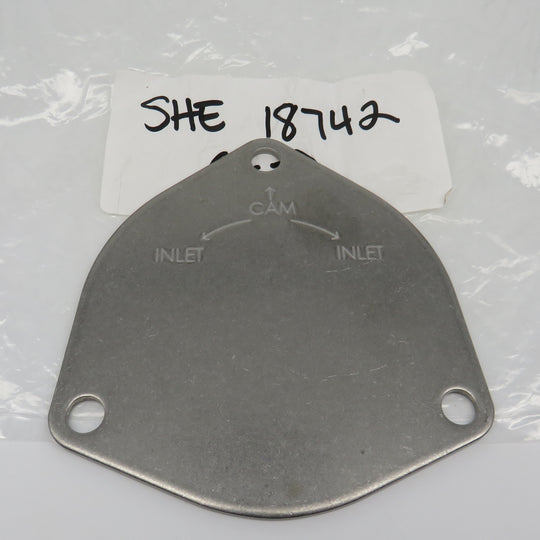 18742 Sherwood Plate Cover SS For A P1700