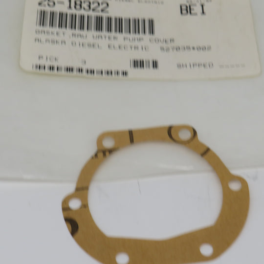 25-18322 Northern Lights Lugger Gasket