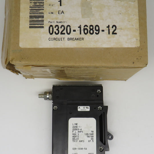 320-1689-12 Onan Circuit Breaker 320-1690-54 (OBSOLETE)