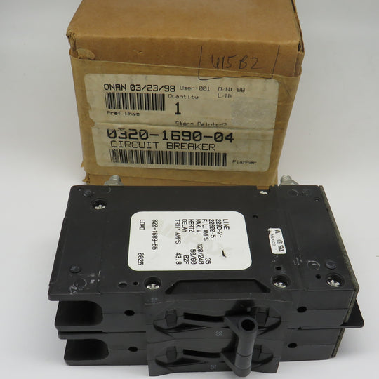 320-1690-04 Onan Circuit Breaker 320-1689-55 (OBSOLETE)