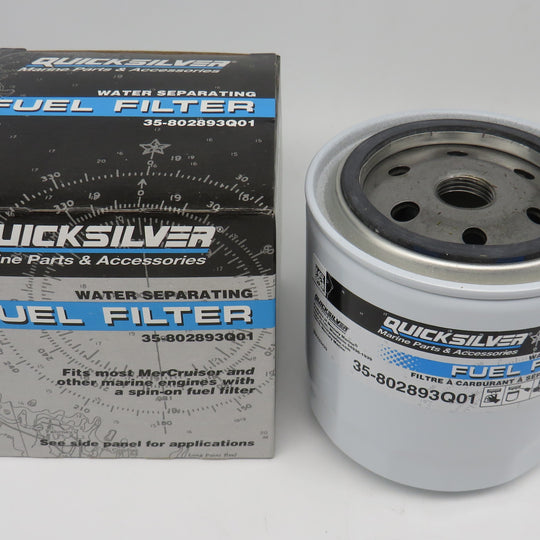 35-802893Q01 Quick Silver Water Separating Fuel Filter Mercury 35-802893T