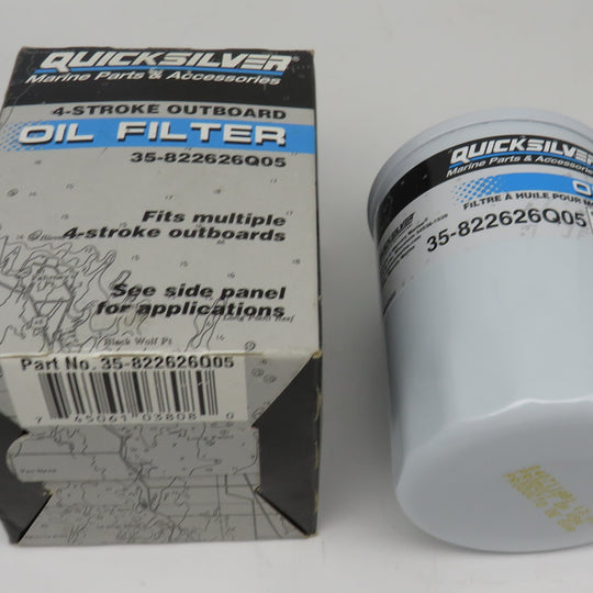 35-822626Q05 Quick Silver 4 Stroke Outboard Oil Filter 35-8M0065103