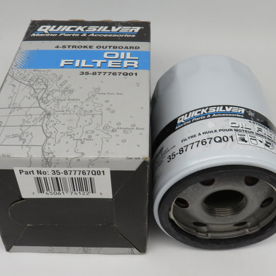 35-877767Q01 QuickSilver Oil Filter O/B Verado L4 MZ