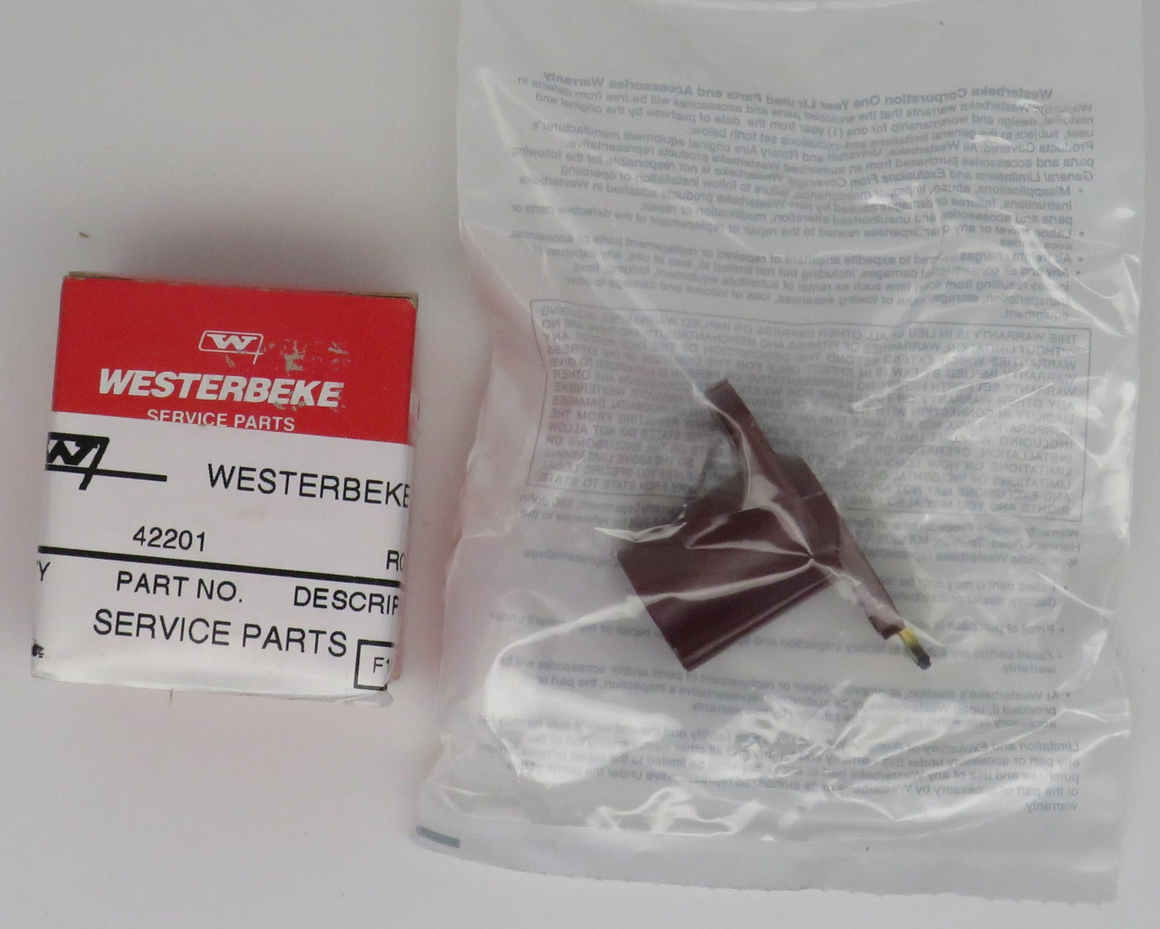 42201 Westerbeke Rotor Distributor (Replaces Old#37926)