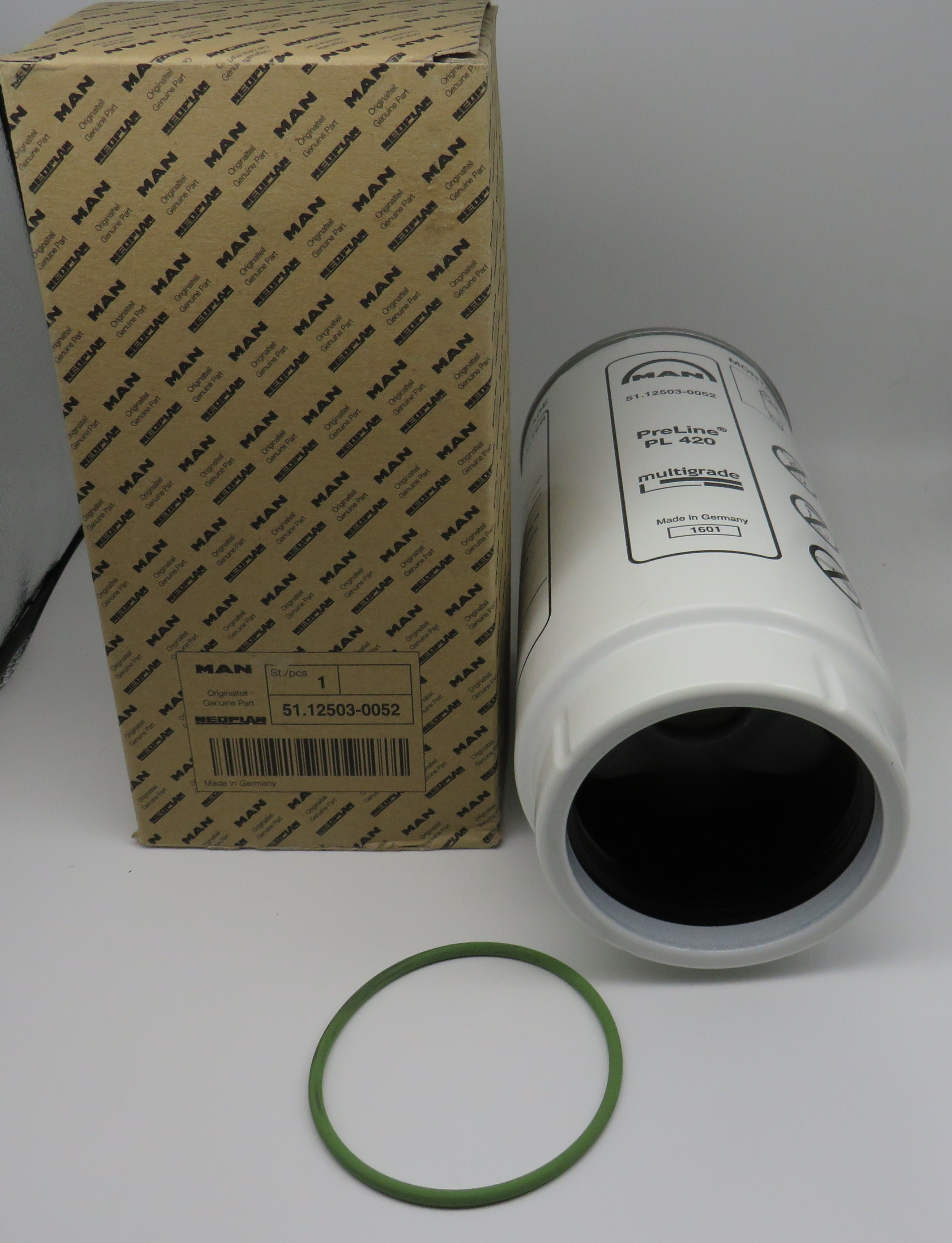 51.12503.0052 MAN Common Rail Primary Fuel Filter