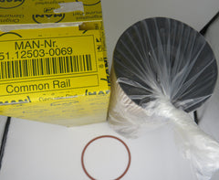 51.12503.0069 MAN Secondary Fuel Filter, Common Rail Late Style
