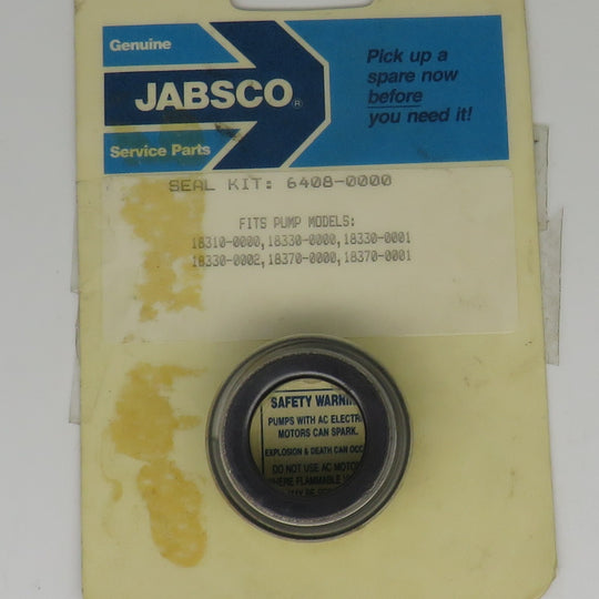 6408-0000 Jabsco Rotary Mechanical Lip Seal Kit