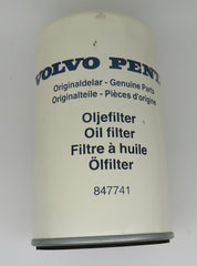 847741 Volvo Penta Oil Filter