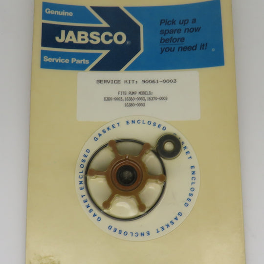 90061-0003 Jabsco Par Impeller Service Kit