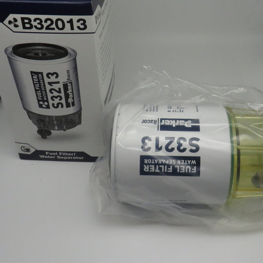 B32013 Racor Fuel Filter/ Water Separator Unit includes S3213 Filter