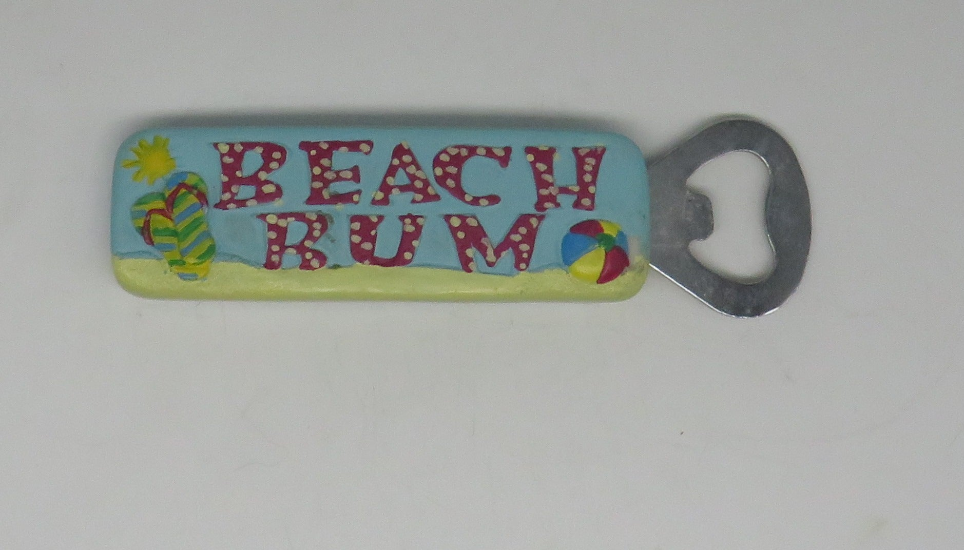 Cape Shore Beach Bum Bottle Opener OBSOLETE