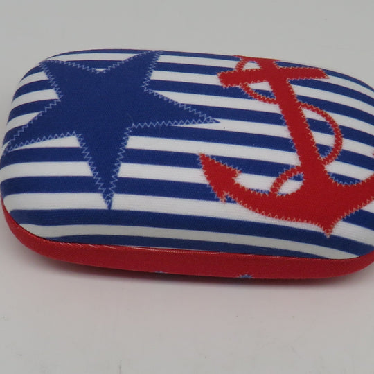 Cape Shore Nautical Chic Contact Lens Case
