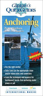Captain's Quick Guides ANCHORING Waterproof by Peter Nielsen