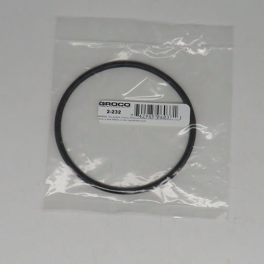 2-232 Groco ARG Raw Water Strainer O-Ring