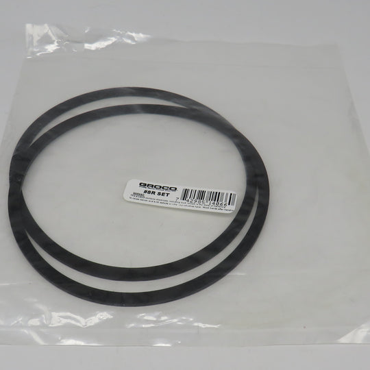 8R Groco #8 Rubber Gaskets (Set of 2)