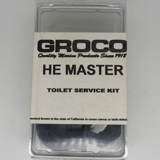 HE Groco Master Toilet Service Repair Kit