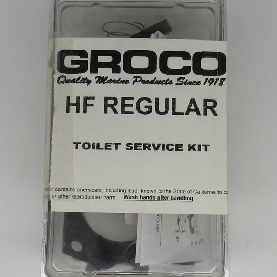 HF Groco Regular Service Repair Kit For Model HF Marine Head