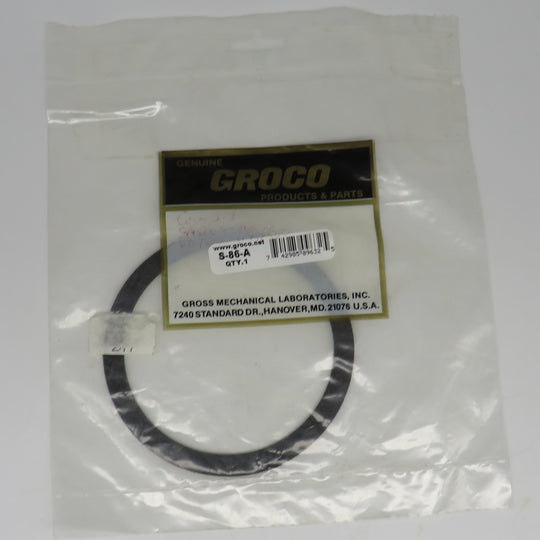 S-86-A Groco Nut Cover Seal Gasket for SA-1500, SA-2000, SA-2500 & SA-3000 & HF Head