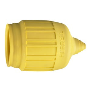 Hubbell Yellow Weatherproof Boot (HBL60CM31) 30 Amp