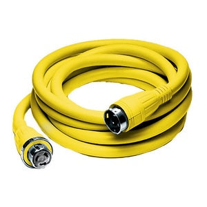 Hubbell 25' 50 Amp 125/250Volt Ship to Shore Power Cord Cable Set (HBL61CM42)