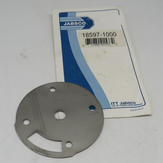 18597-1000 Jabsco Par Wear Plate For Macerator Pump